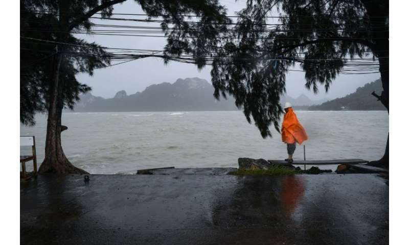 Tropical Storm Pabuk packed winds of up to 75 kilometres an hour and brought heavy rains and storm surges as it lashed the entir