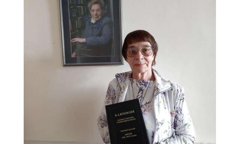 TSU philologists published 80 new letters from V.А. Zhukovsky
