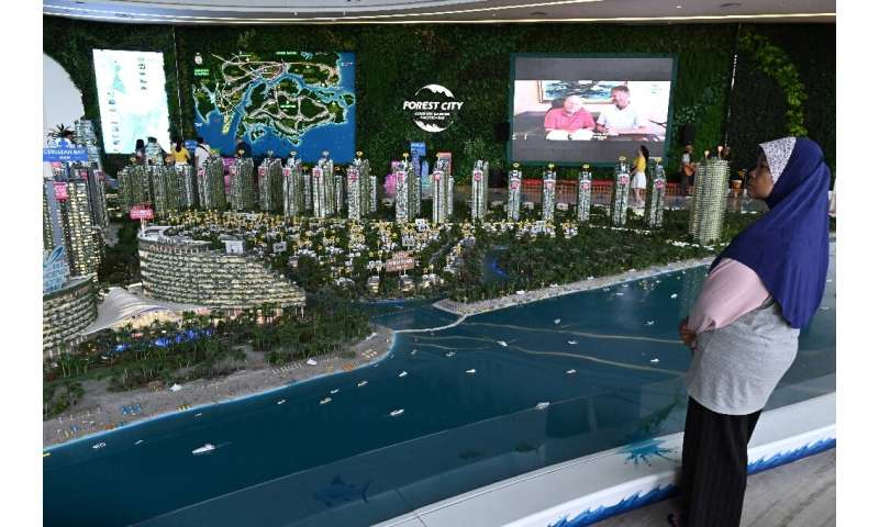 Two-thirds of units in Forest City were sold to mainland Chinese buyers well before the $100 billion project is completed in 203