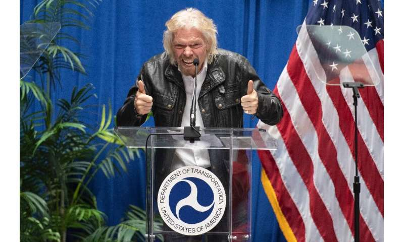 Until now, Virgin Galactic has largely been funded by British billionaire Richard Branson himself, who launched the company in 2