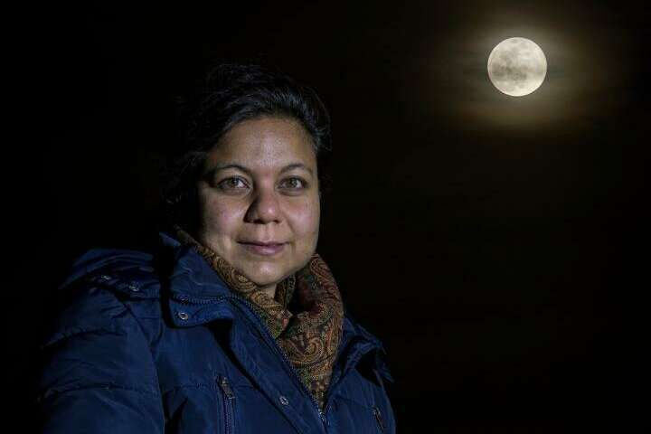 URI researcher calculates temperature inside moon to help reveal its inner structure