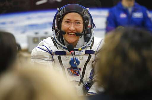 US astronaut to spend 11 months in space, set female record