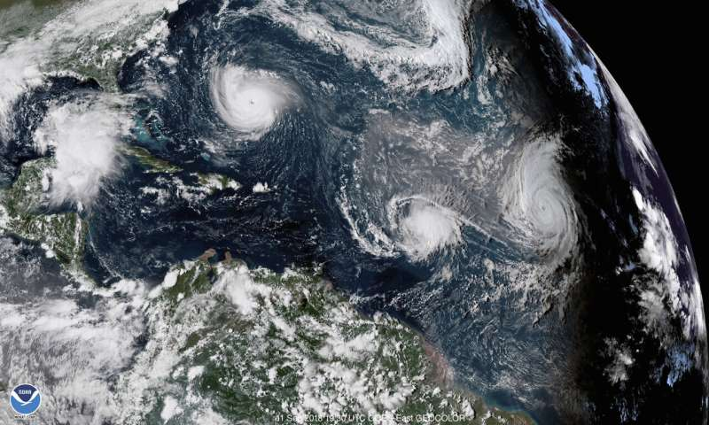 US forecasters: Expect near normal Atlantic hurricane season