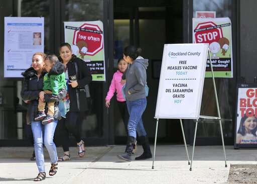 US measles tally hits 465, with most illnesses in kids