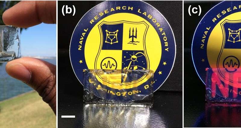 US Naval Research Lab develops quantum dot polymer for next-gen screens