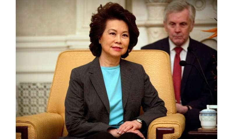 US Secretary of Transportation Elaine Chao said the approval marked an 'important step' for the integration of drones into the U