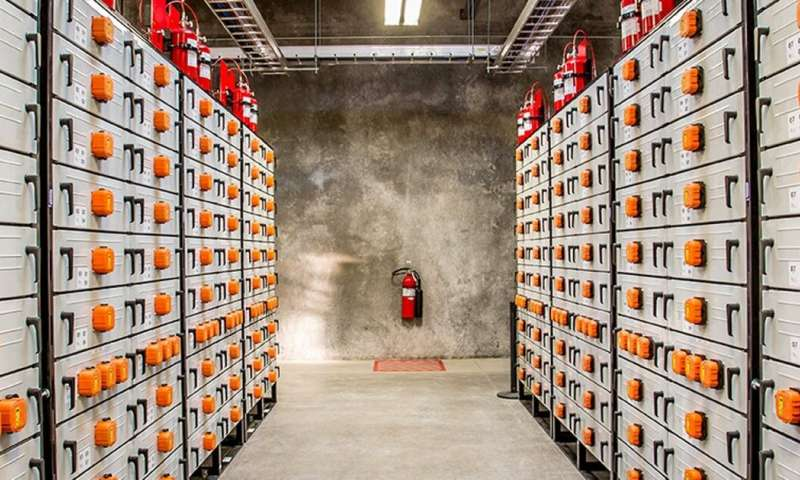 Utilities are starting to invest in big batteries instead of building new power plants