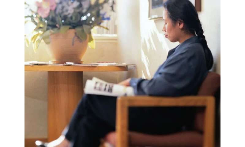 Waiting room tool aids patient-physician communication