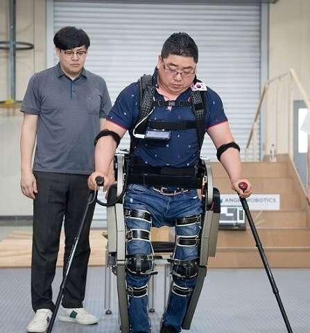 Wearable robot 'WalkON Suit' off to Cybathlon 2020