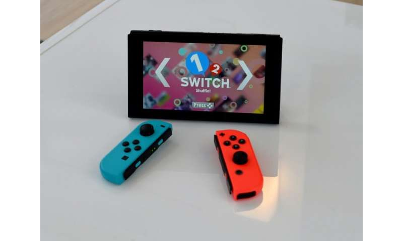 While Nintendo's Switch has proved popular, sales of the gadget are tailing off
