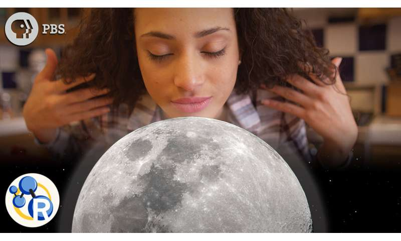 Why does the moon smell like gunpowder? (video)