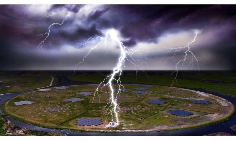 Why lightning often strikes twice