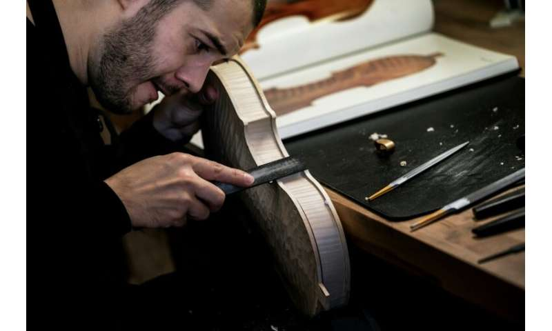 Wiedmer learned his craft in France before continuing his apprenticeship with luthiers in New York and London