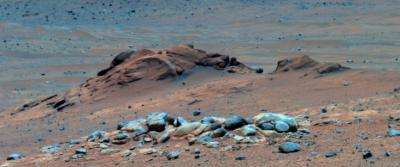 ASU instrument on NASA rover helps identify outcrop of long-sought rare rock on Mars