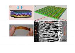 Researchers use improved nanogenerators to power sensors based on zinc oxide nanowires