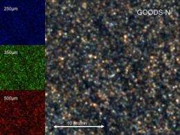 Astronomers unveil images of 12-billion-year-old space nursery