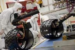 Curiosity is NASA's new ramp roller