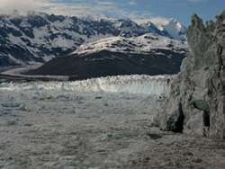 Footloose Glaciers Crack Up