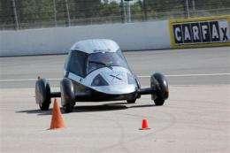 3 ultra-efficient cars win $10M innovation award (AP)