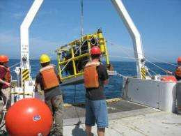 Naval Research Laboratory scientists investigate acoustics in Gulf of Mexico