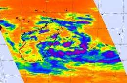 Tropical cyclone formation likely near Madagascar