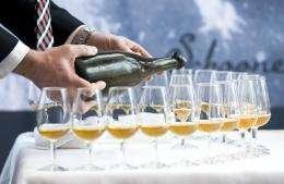World's oldest champagne uncorked