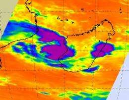 NASA satellite sees Tropical Storm Fami form, fast and furious