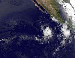 NASA satellites see Hurricane Celia strengthen and open an eye