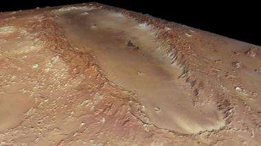 Mars's mysterious elongated crater