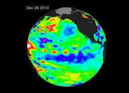 NASA satellites capture a stronger La Nina