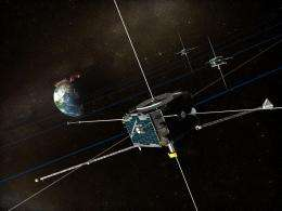 ARTEMIS spacecraft believed stuck by object