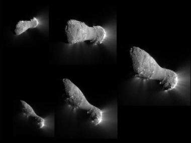 New insights revealed into comet features with EPOXI flyby