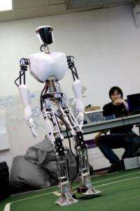 Virginia Tech students build CHARLI, a full-sized humanoid robot