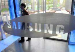 Samsung Electronics and Rambus reached a 900-million-dollar settlement on Tuesday to patent claims