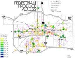 Mapping food deserts