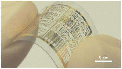 Carbon nanotube transistors could lead to inexpensive, flexible electronics