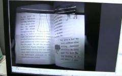 Scanner scans a 200 page book in one minute (w/ Video)