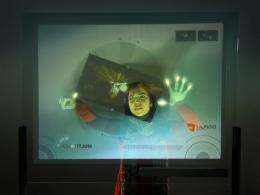 Multitouch 'Skin' Transforms Surfaces Into Interactive Screens