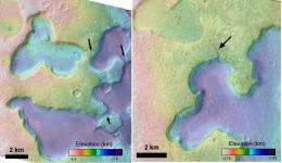 Spectacular Mars images reveal evidence of ancient lakes (w/ Video)