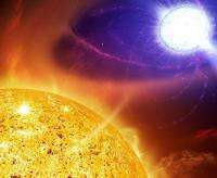 Possible eruption on brink for symbiotic variable star
