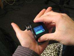 Mobile devices serve as own mice with optical sensing (w/ Video)