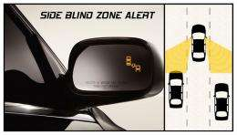 Side Blind Zone Alert in Buick LaCrosse Can Help Avoid Lane Change Mishaps