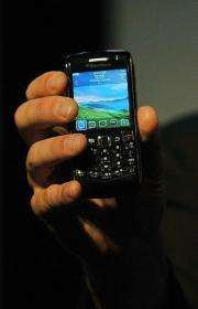 A Blackberry Pearl 3G