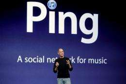 According to Apple, more than one million users joined Ping in the 48 hours following its launch