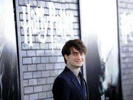 "Actor Daniel Radcliffe attends the premiere of ""Harry Potter and the Deathly Hallows - Part 1"""
