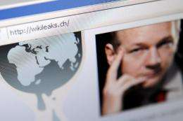 A hacker group defending WikiLeaks broke through a security firm's defenses