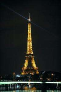 "All major landmarks in Paris will take part in the ""Earth Hour"", led by a five-minute blackout of the Eiffel Tower"