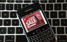 Americans clicked up a record 30.8 billion dollars in online holiday sales in 2010, a jump of 13 percent from a year ago