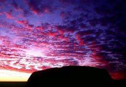 Ancient aborigines used the sky for navigation, time-keeping and marking out the seasons