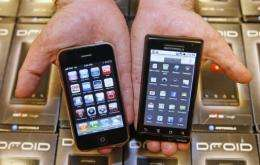 Android-powered smartphones accounted for 28 percent of US consumer sales in the first three months of the year